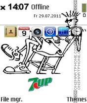 Скриншот темы Fido Dido - 7Up