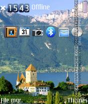 Swiss Alps - Schweizer Alpen es el tema de pantalla