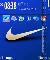 Nike 03 theme screenshot