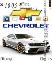 Capture d'écran Chevrolet 03 thème