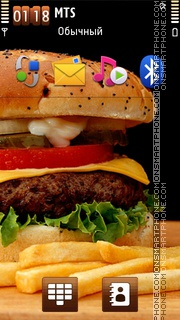 Burger 01 theme screenshot