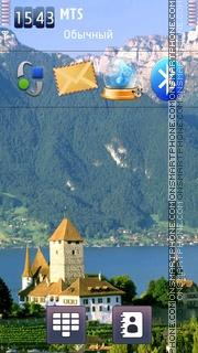 Swiss Alps 01 tema screenshot