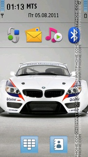 Bmw Z4 08 theme screenshot