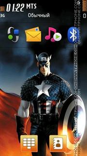 Captain America 08 tema screenshot