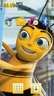 Bee Movie 01 theme screenshot