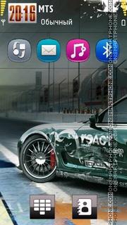 Nfs Car 10 es el tema de pantalla