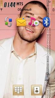 Justin Timberlake 06 theme screenshot