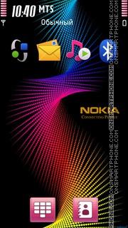 Nokia Logo 02 es el tema de pantalla