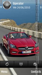 Mercedes Red theme screenshot