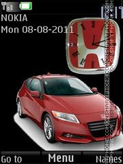 Honda CR-Z Type R By ROMB39 theme screenshot
