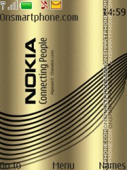 Nokia Gold Theme theme screenshot