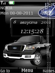 Скриншот темы Ford Truck By ROMB39