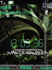 NFS Most Wanted™ theme screenshot