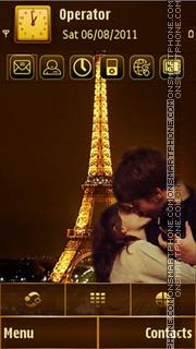 Love in Paris es el tema de pantalla