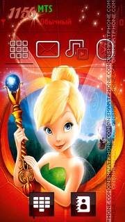 Tinker Bell theme screenshot