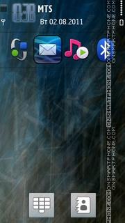 Illusion Ipad V3 theme screenshot