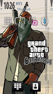 Gta San Andreas 11 es el tema de pantalla