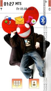 Deadmau5 tema screenshot