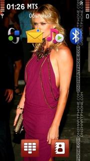 Скриншот темы Charlize Theron 23