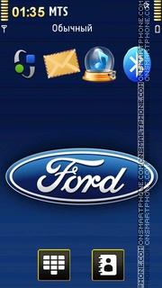 Скриншот темы Ford Logo