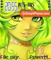 Green Angel es el tema de pantalla