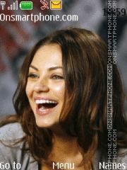 Mila Kunis 01 Theme-Screenshot