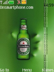 Heineken 11 theme screenshot