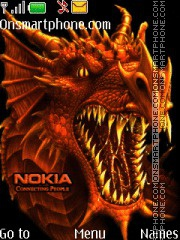 Nokia Dragon theme screenshot