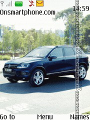 Volkswagen Touareg 2011 theme screenshot