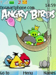 Angry Birds 07 theme screenshot
