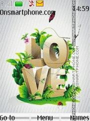 Love With Loving Tone theme screenshot