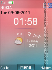 Iphone Hd theme screenshot