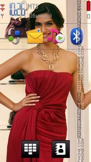 Sonam Kapoor 07 theme screenshot