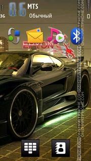 Epyon theme screenshot