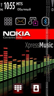 Xpressmusic 04 theme screenshot