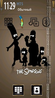 Simpsons 11 theme screenshot
