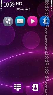 Abstract Purple 5800 tema screenshot