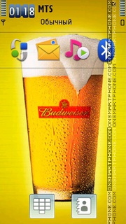 Budweiser 08 theme screenshot