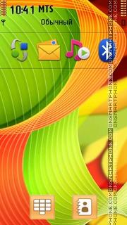 Ribbons tema screenshot
