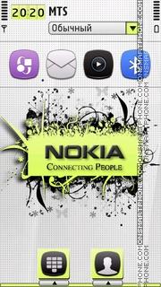 Nokia connect s5 es el tema de pantalla