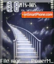 Animated Heaven Step theme screenshot