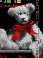Teddy Bear Ribbon es el tema de pantalla