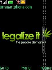 Legalize It es el tema de pantalla