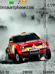 Mitsubishi Pajero theme screenshot