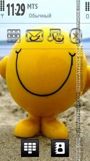 Smile 15 es el tema de pantalla