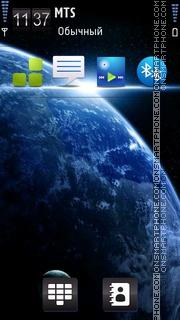 Скриншот темы Space 19