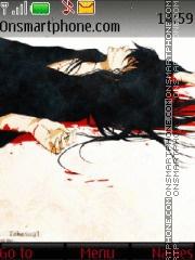 Katsura (Gintama) theme screenshot
