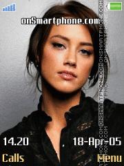 Amber Heard 2 tema screenshot