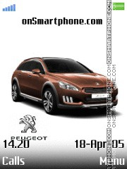 Peugeot tema screenshot