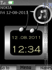 Music Lovers By ROMB39 es el tema de pantalla